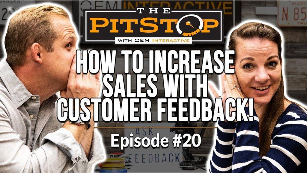customer feedback, auto parts marketing