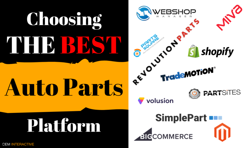 best auto parts websites