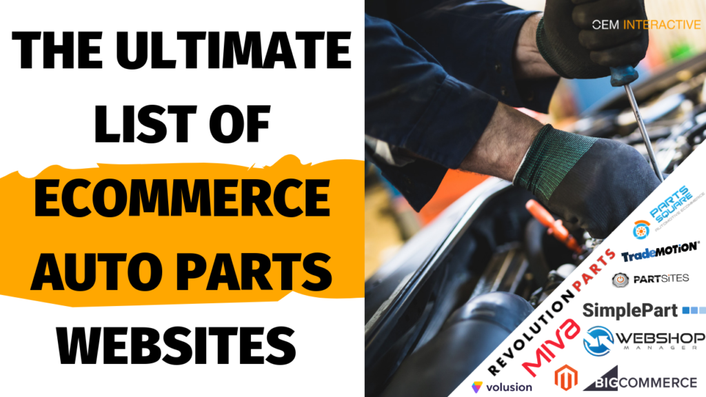 list of auto parts websites