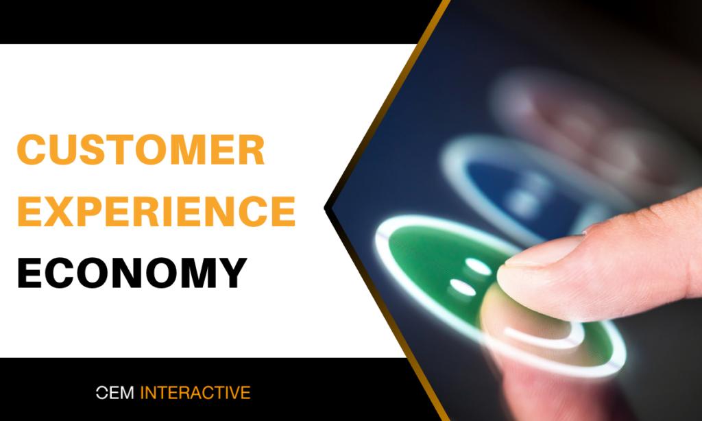 customer experience economy - parts ecommerce