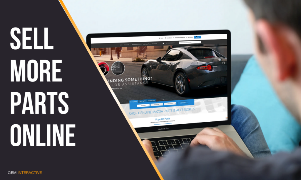 SELL MORE AUTO PARTS ONLINE